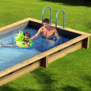 Pool'n Box Houten Zwembad...