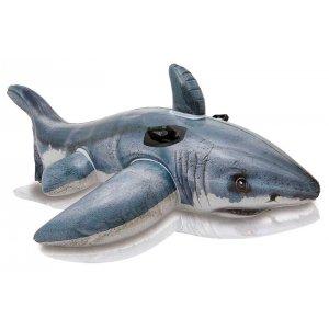 Opblaasbare witte haai