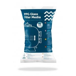 PGFM Filterglas 0,8 - 2 mm