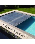 Aquadeck® Afdekkingen bij Zwemco.be - Online store for pool & more